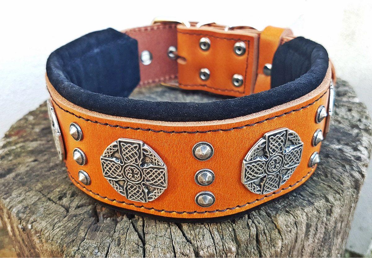 Bestia Maximus Genuine Leather Dog Collar For Etsy Wide Dog Collars Cheap Dog Collars Leather Dog Collars