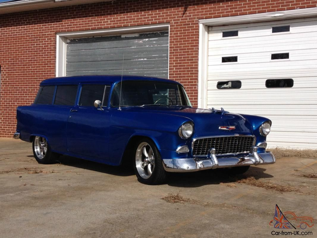 Pin by Scott Vanatter on '55 Chevy Wagon Chevy, 1955