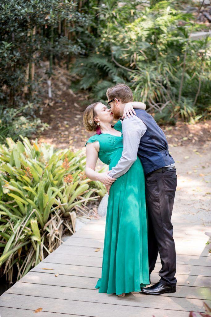 Casey Jake Engagement Ucla Mildred E Mathias Botanical Garden
