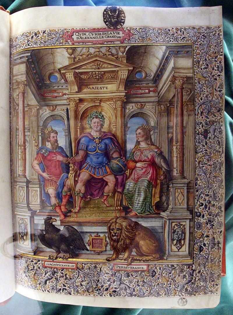 Francia, quinto curzio rufo, storia di alessandro magno, 1450-1500 ca. - Biblioteca Medicea Laurenziana - Firenze