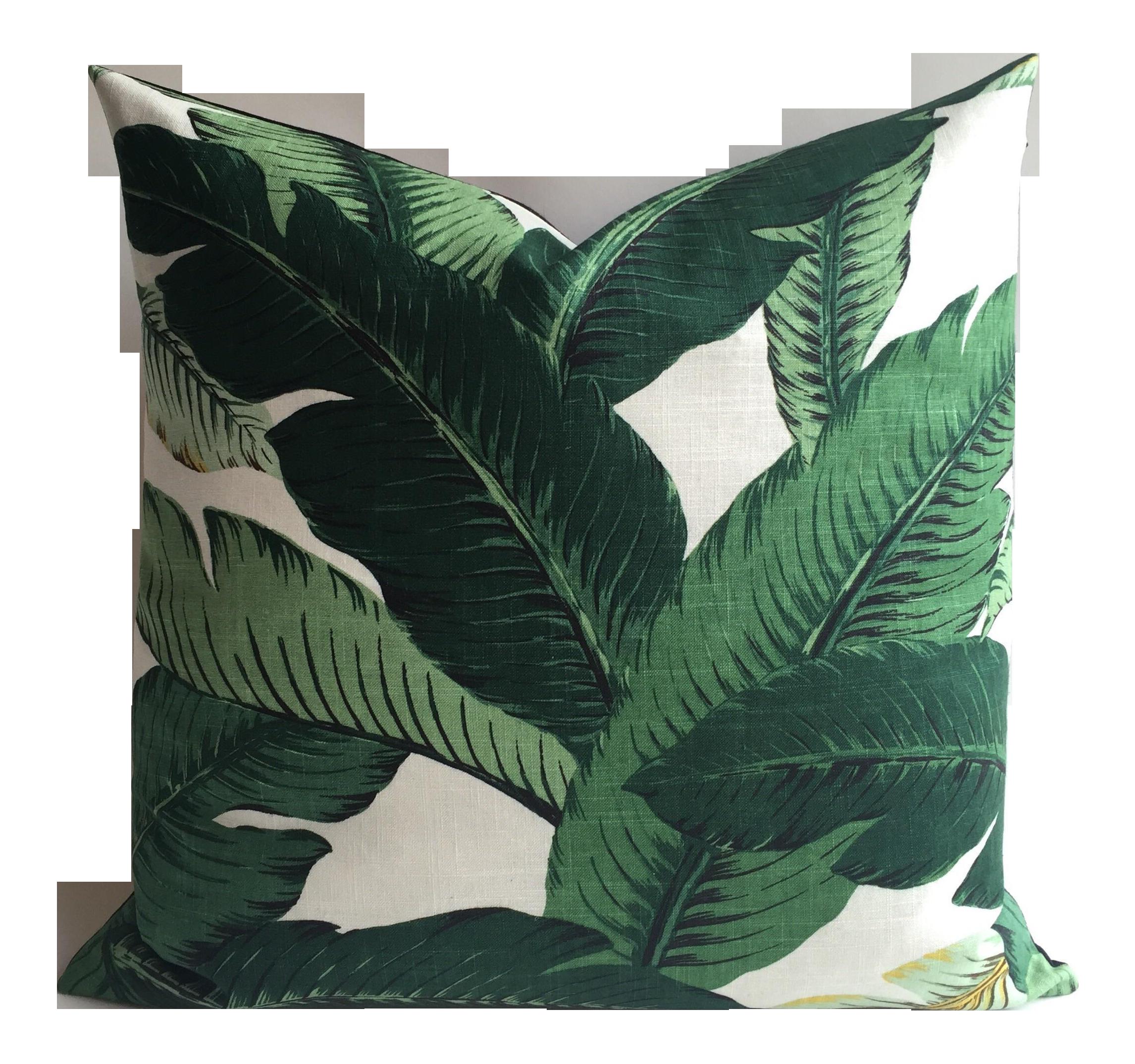 Pin by Dan Appel on 2321 Banana leaf pillow, Pillow