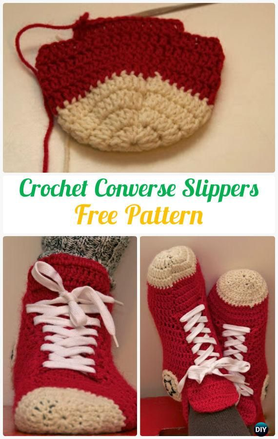 Crochet Men Slippers Shoes Free Patterns | Ganchillo, Tejido y Zapatos