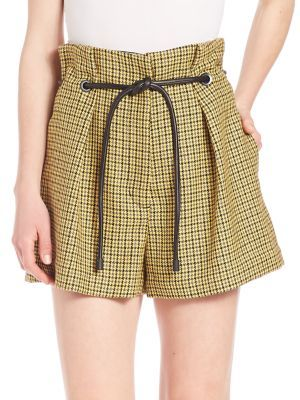 3.1 PHILLIP LIM Origami Pleated Shorts. #3.1philliplim #cloth #shorts