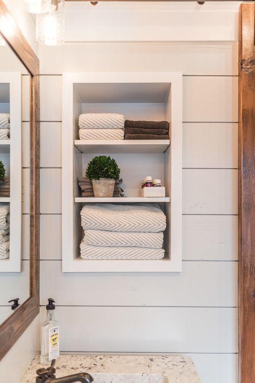 Photo of Neutral Modern Farmhouse Bathroom Ideas – Pickled Barrel