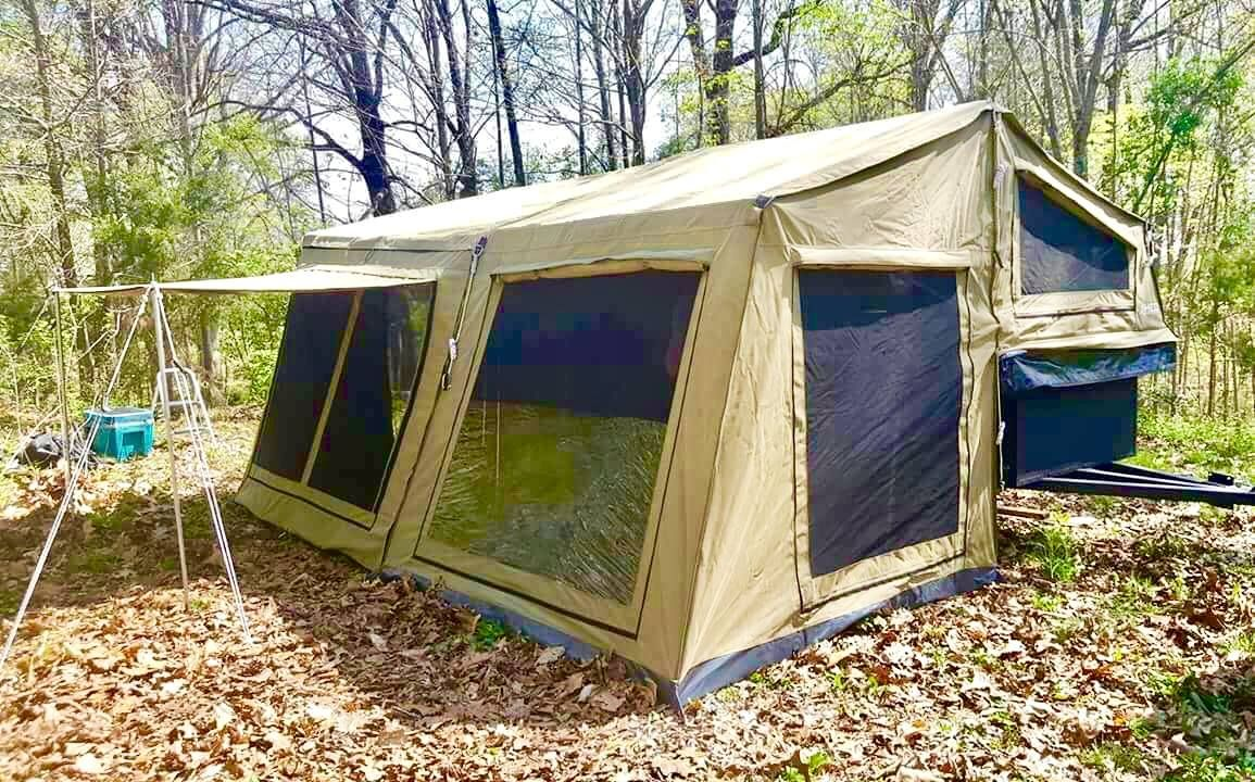 7 Foot Heo Trailer Tent With Awning And Awning Room Tent Trailer Tent Awning