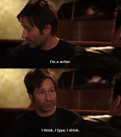 writers like hank moody