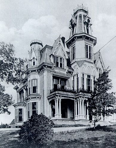 L P Fisher Gothic Mansion Late 1870 S Early 1880s Torn Down In 1934 New Brunswick Canada Gothic House Creepy Houses Victorian Homes