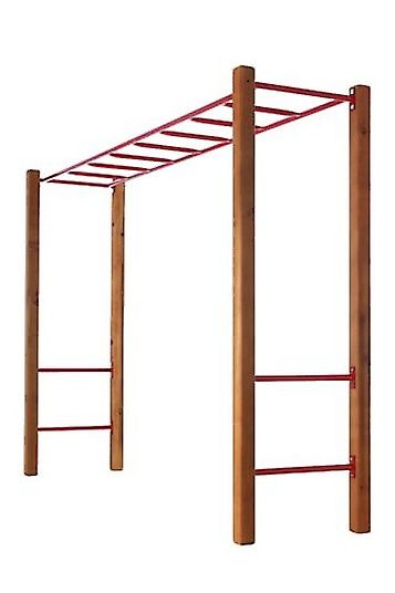 Beau Monkey Bar Set With Rungs, Step Rails And Timber P $420.00
