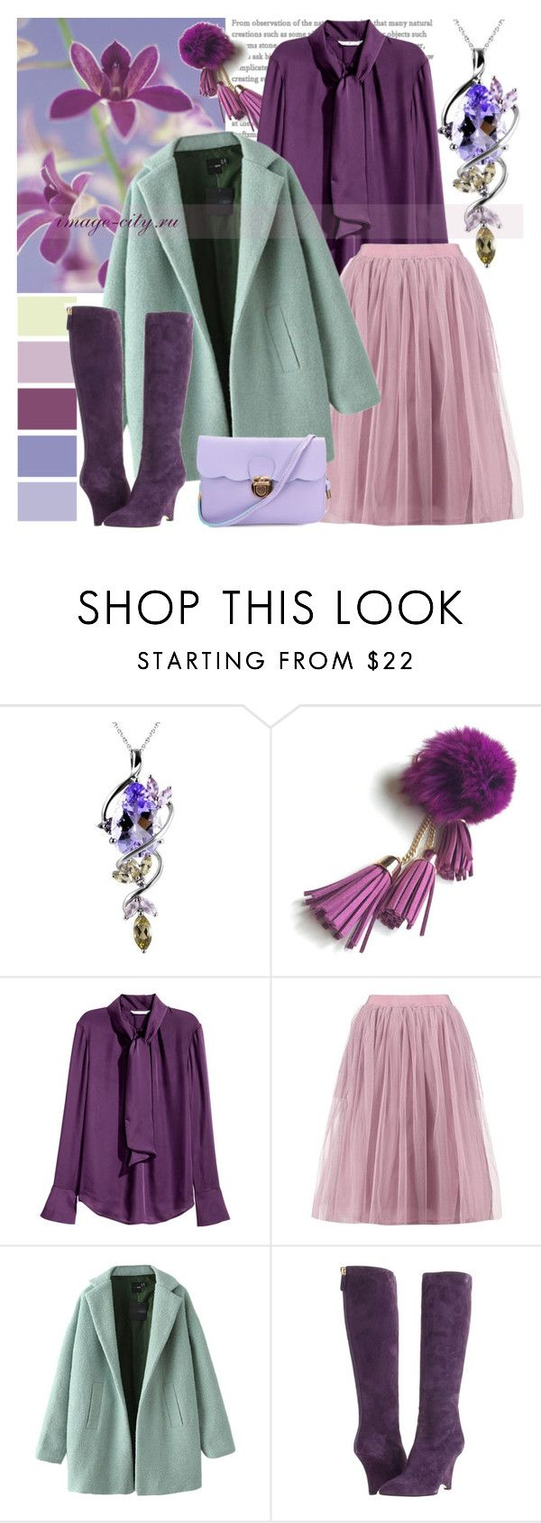 """""""Romantic"""" by lyusilgrig ❤ liked on Polyvore featuring Boohoo and Kate Spade"""
