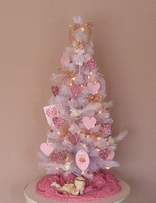 Valentine Tree Get A White Or Pink Tree From Christmas Clearance And