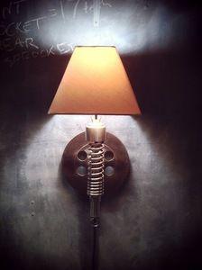 Image of Classified Moto Lamp — Wall mounted