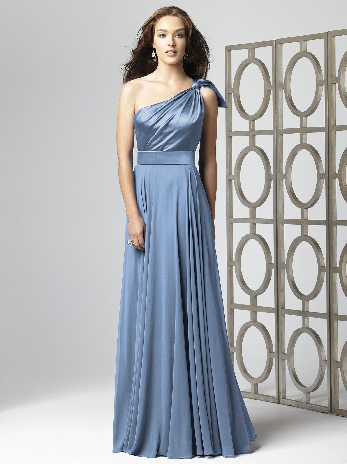 bridesmaids dress with a bit of shine, and lots of flow. I\'m liking ...