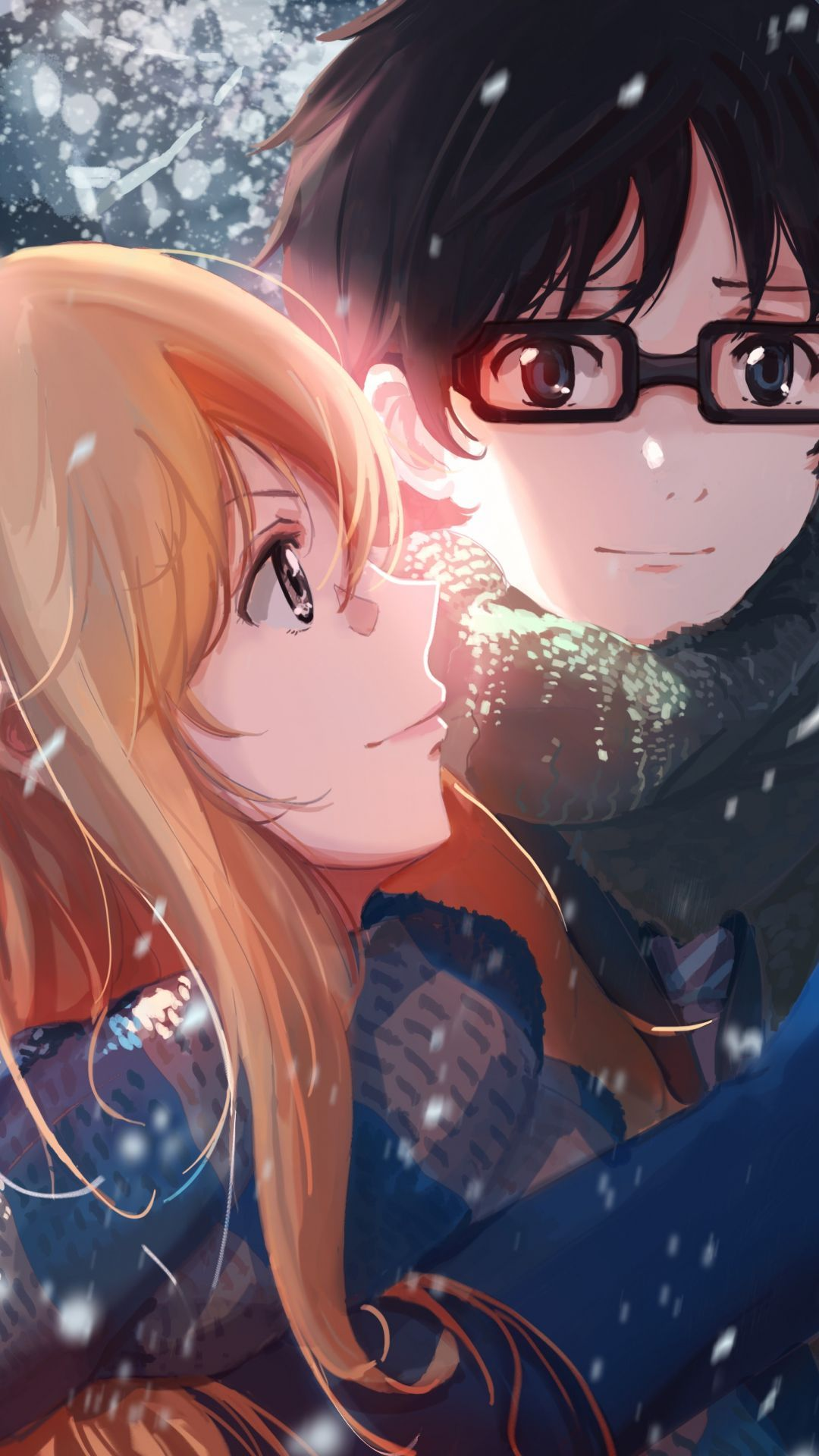 Fondos De Pantalla Anime 2 Cerrado Anime Love Your Lie In April Shigatsu Wa Kimi