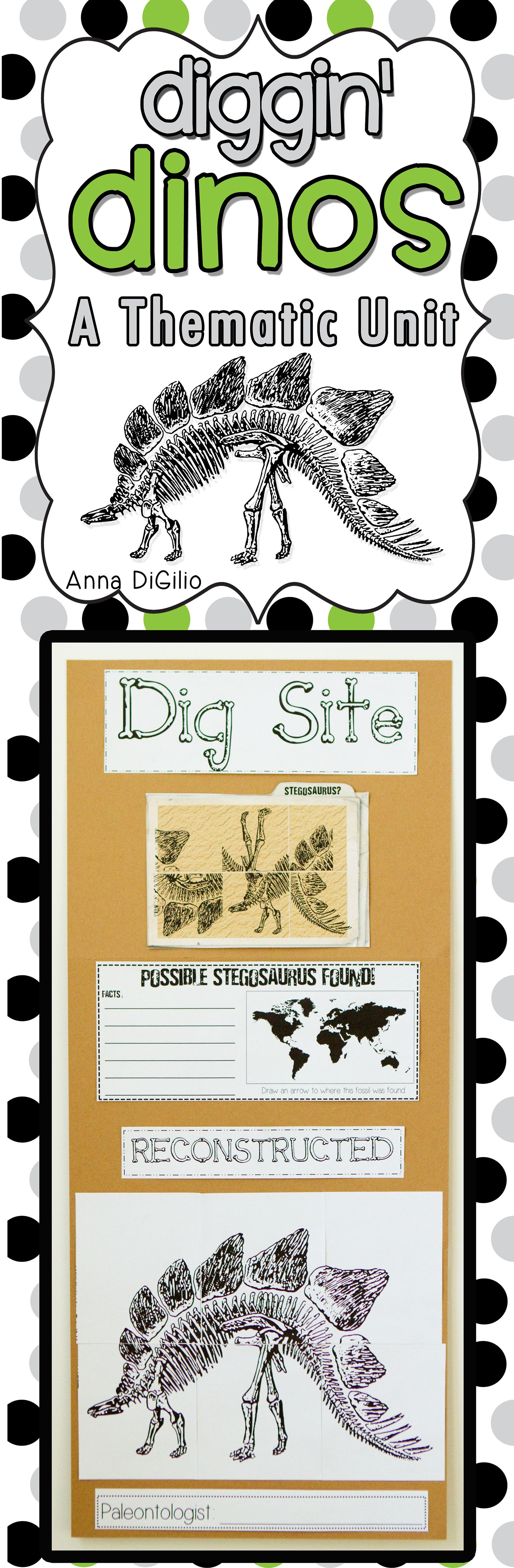 Get Ready To Dig Into Dinosaurs This Dino Mite Unit Is Jam Packed With Fun Creative And