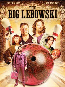 The Big Lebowski 1998 Jeff Bridges Filmplakate Filme