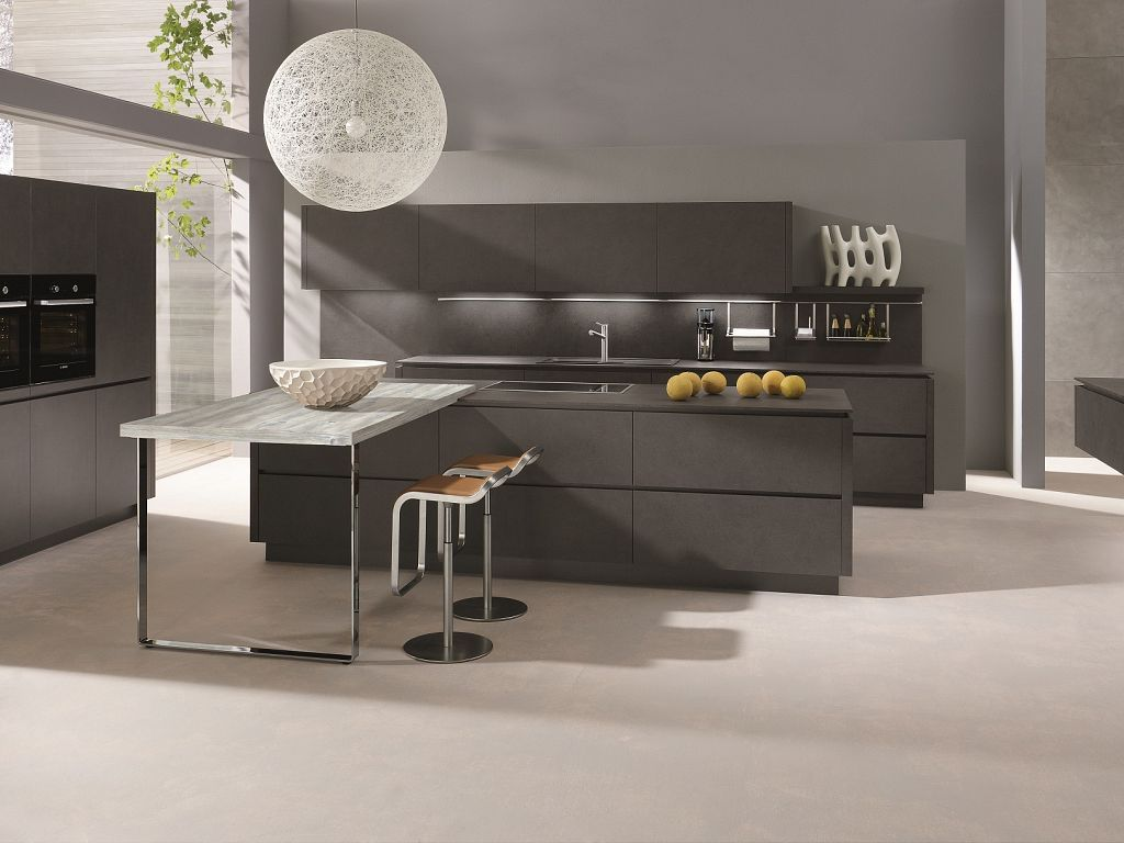 About alno modern kitchens on pinterest modern kitchen cabinets - Kitchen Amazing Fancy Kitchen Lighting Black Kitchen Island With Stainless Wastafle And Faucet Kitchen Cabinet Table And Chairs Design Glass