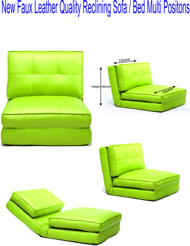 Excellent Details About New Lime Green Sofa Bed Reclining Games Caraccident5 Cool Chair Designs And Ideas Caraccident5Info