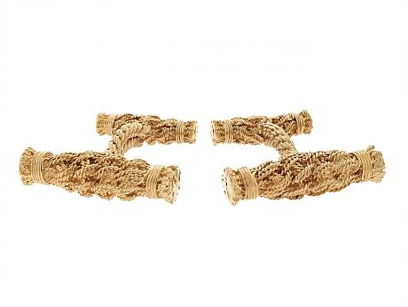Tiffany & Co. Cufflinks in 18K from Beladora