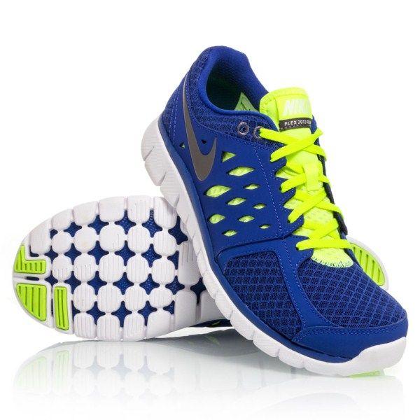 d050d965fa292 Nike Flex 2013 RN - Mens Running Shoes - Blue Yellow White ...