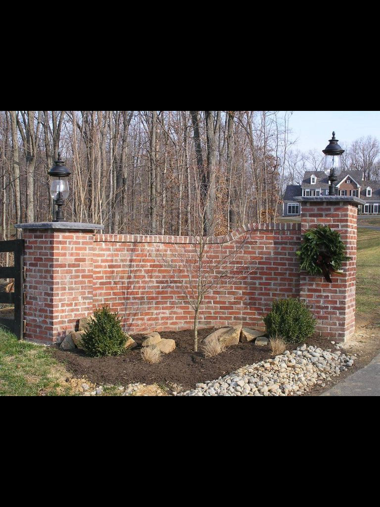 Brick Driveway Entrance Landscape Photos In 2019