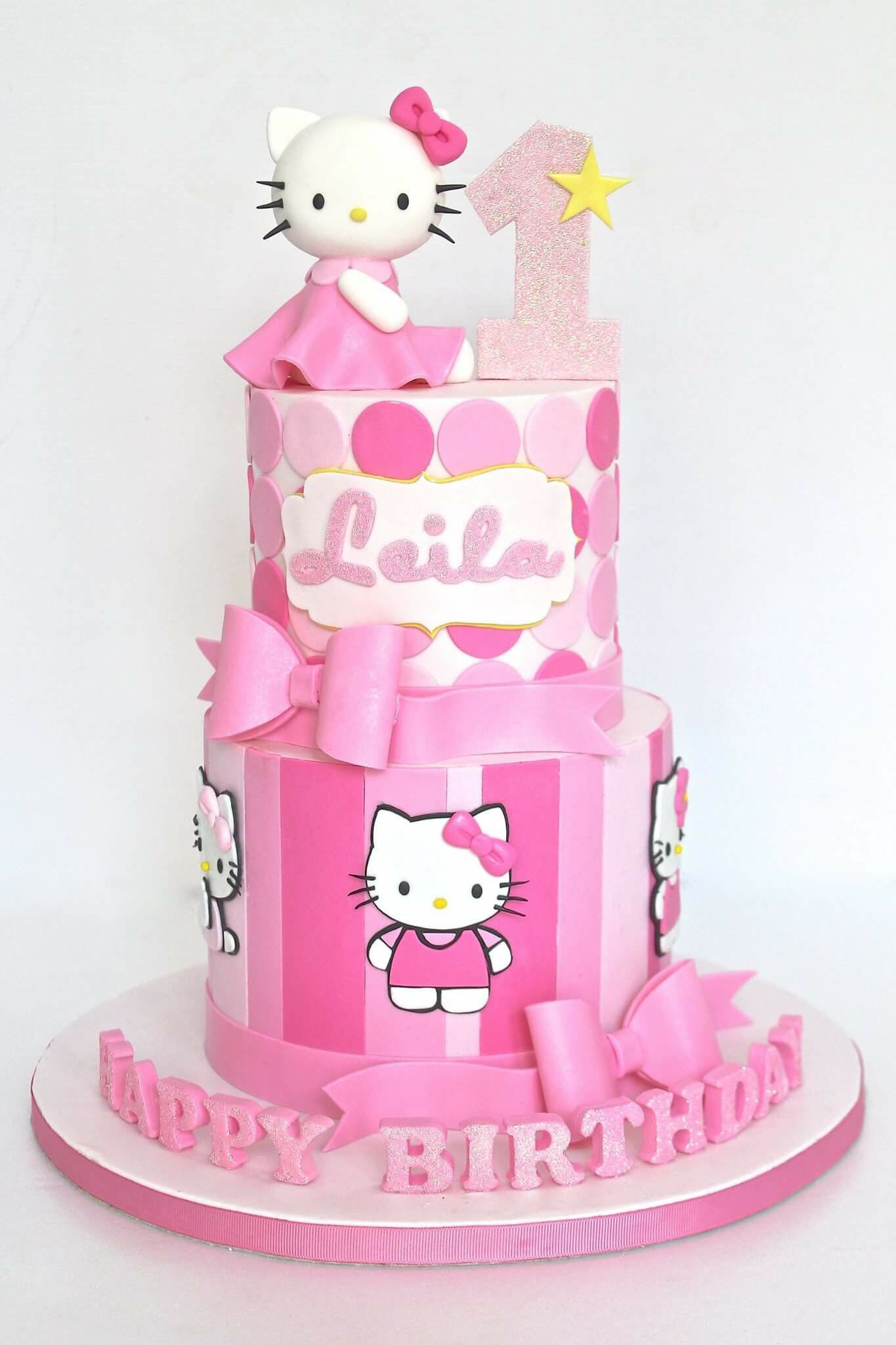 Outstanding Pin By Lizabelle Uy On Laras First Birthday Hello Kitty Theme Funny Birthday Cards Online Inifodamsfinfo