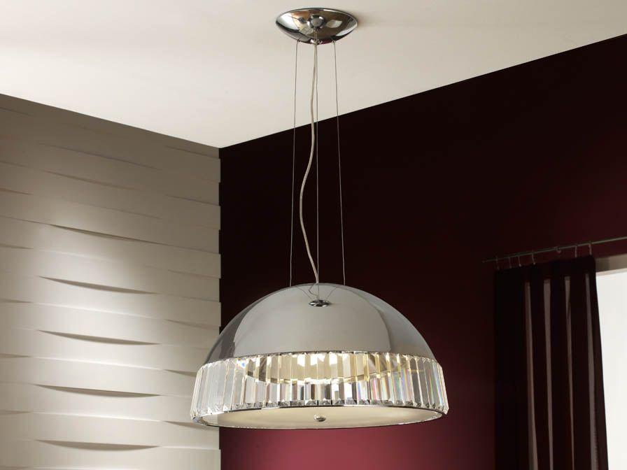 agora colgante 4l cromo brillo (694619) - #Schuller   iLamparas - lamparas de techo modernas