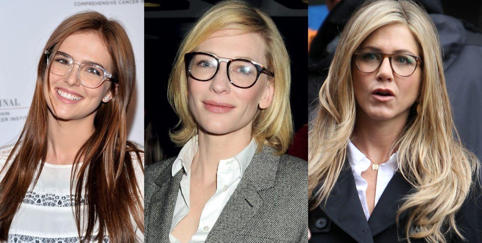 10 Popular Celebrities Who Wore Glasses Set New Fashion Trends Celebrities New Fashion Trends Celebrity Look