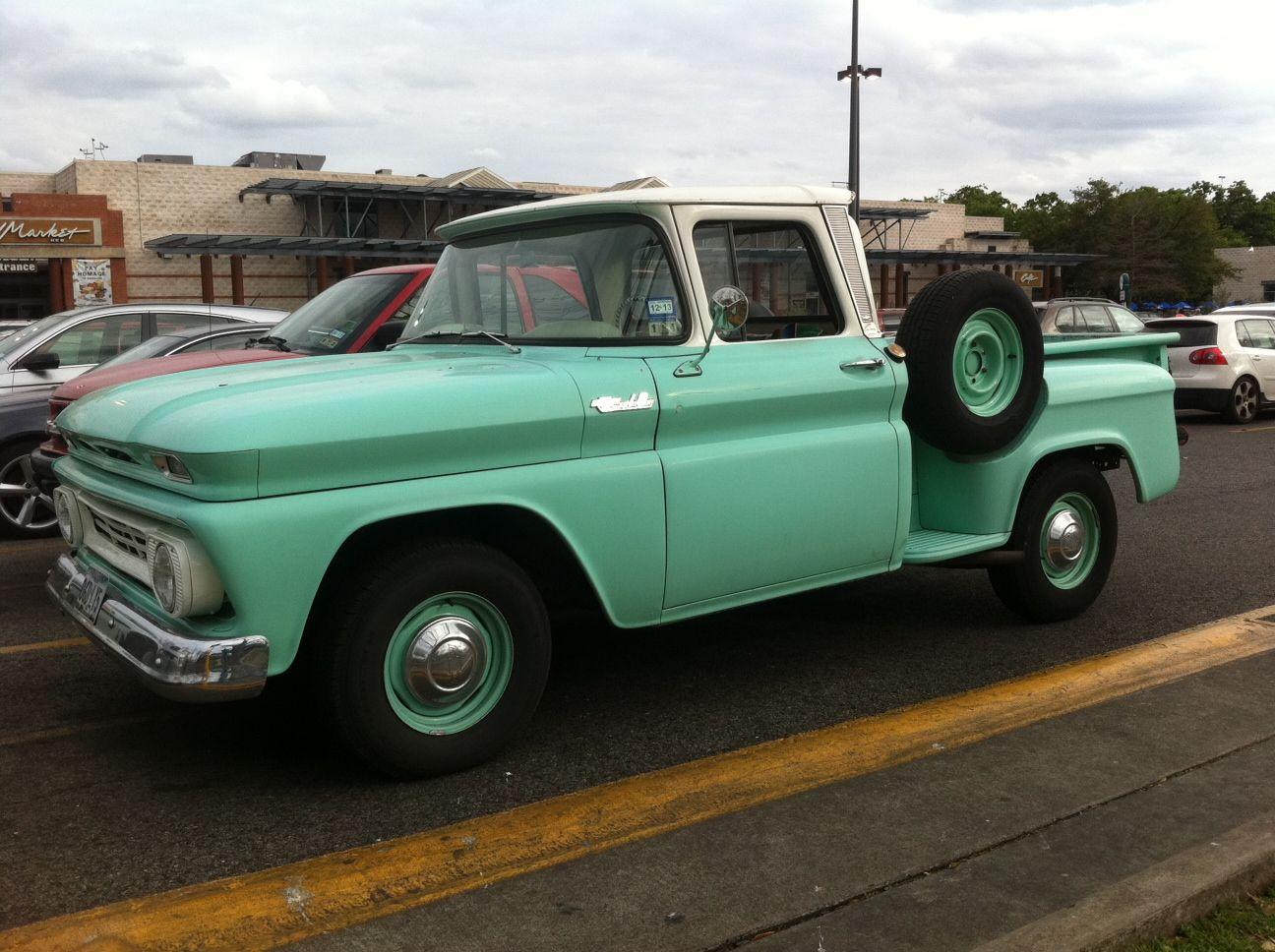 Classic 1962 Chevy Truck Stepside 1960 1965 Pickups Pinterest 1966 C10 Short Bed Chevrolet Half Ton Pickup In Austin Tx