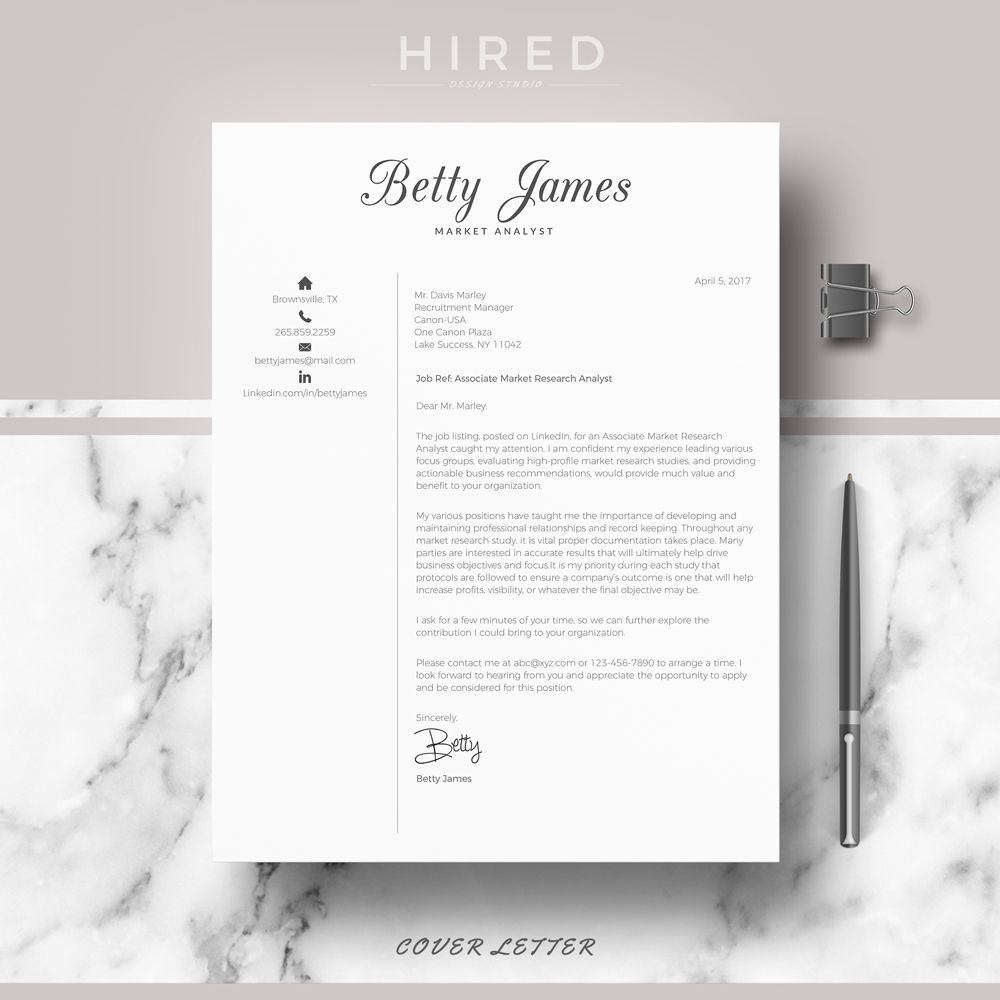 Resume Lay Out Resume Template  Cv Template  Professional & Modern Résumé Cv .