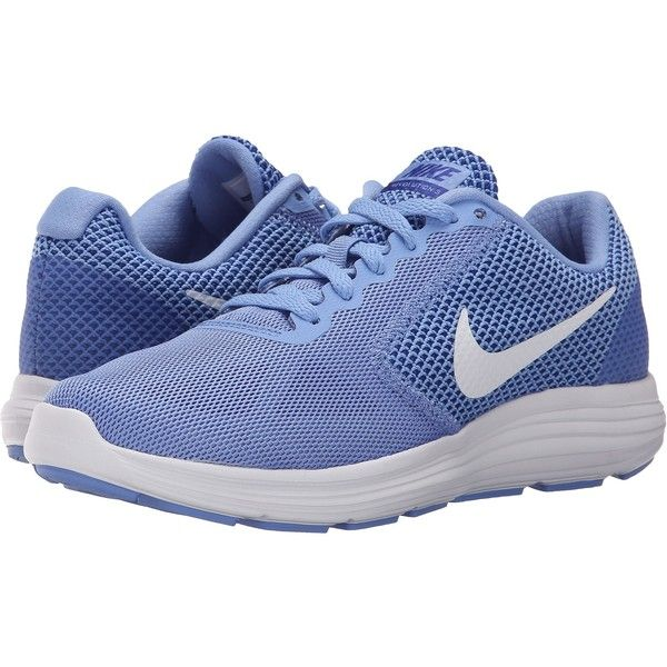 Nike Revolution 3 (Chalk Blue/Concord/White) Women's Running Shoes ($48