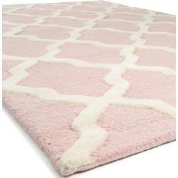 Photo of benuta Naturals Wollteppich Läufer für Flur Windsor Rosa 80×240 cm – Naturfaserteppich aus Wollebenu