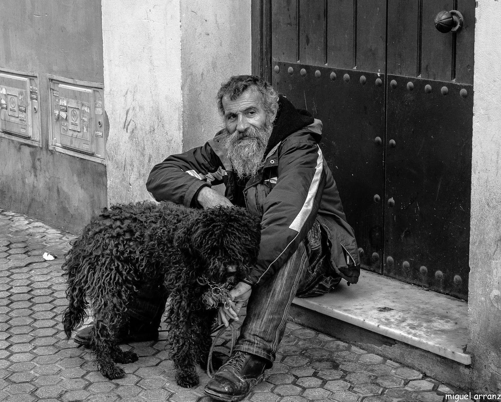 Barba Y Su Pdae Magnifico Retrato De Miguel Arranza Sevilla