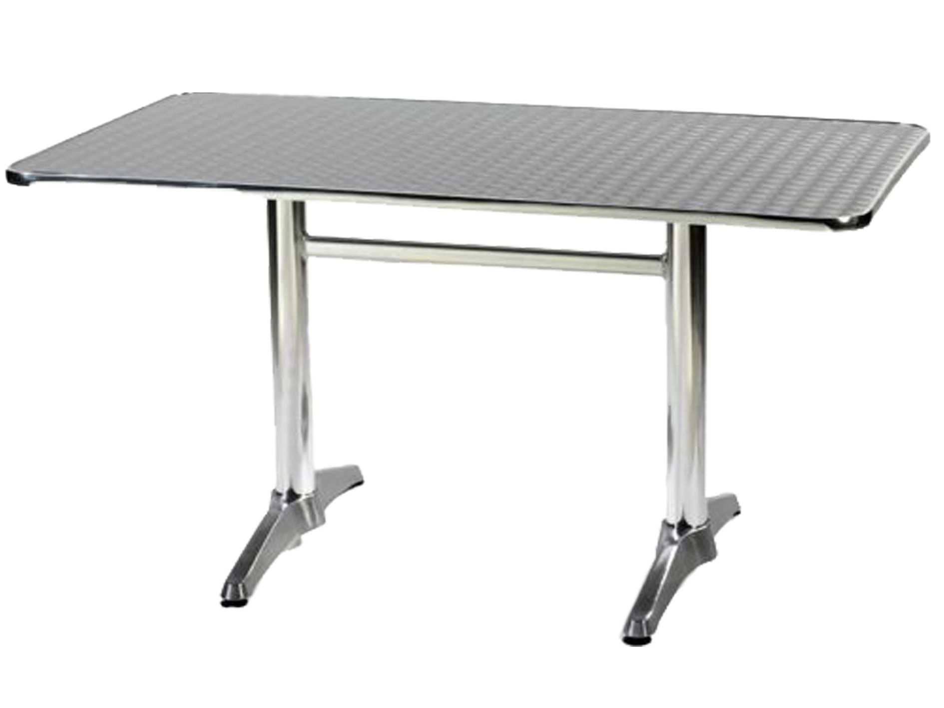 ALUMINIUM 60 X 120 CAFE TABLE 6 SEATERDIMENSIONS:HEIGHT:WEIGHT: