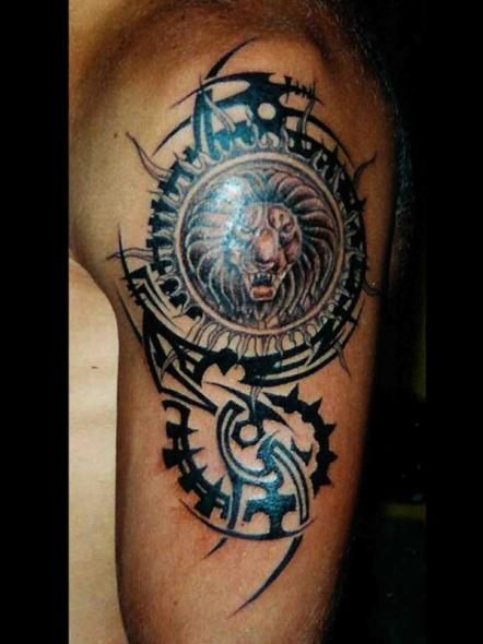34,tatouage lion (442×590)