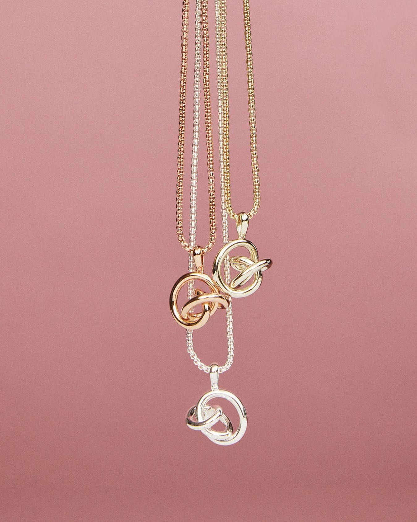 Love tie necklace-Goldfiled necklace-Natural Stone necklace-love charm stylish necklace-dainty,delicate,sexy necklace-boho style choker