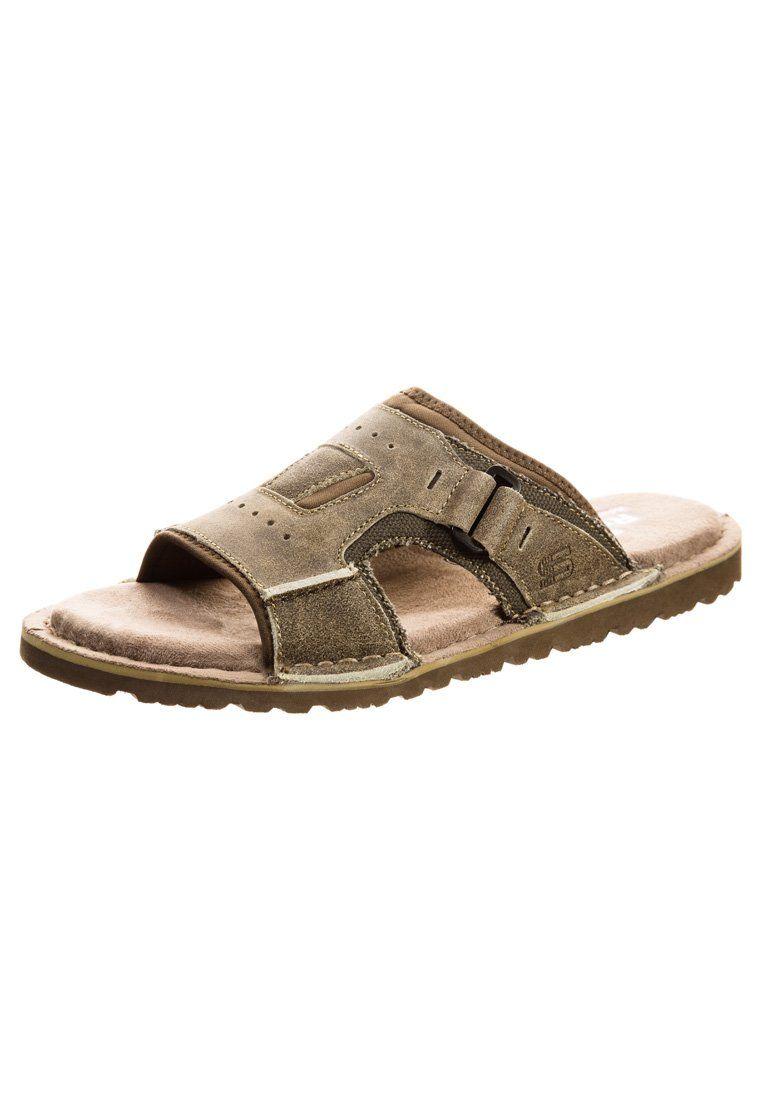 d8ed1750ba37 Skechers - GOLSON - Sandals - stone