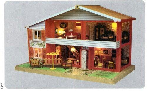 80s doll house