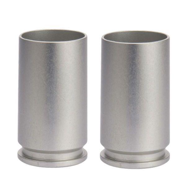 Set of 2 30mm A-10 Warthog Shot Glasses in Aluminum