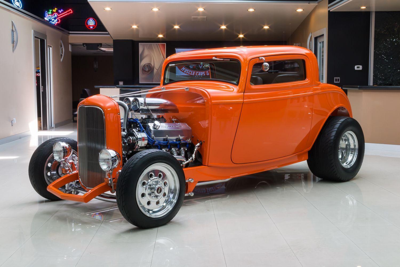 custom hot rod designs | 1932 Ford 3-Window | Vanguard Motor Sales ...