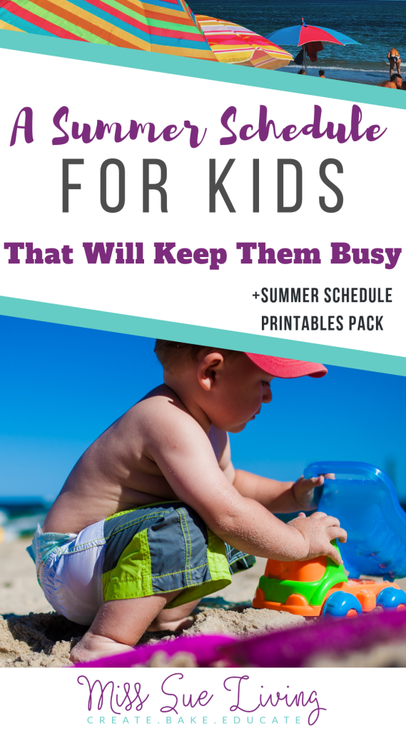 A Summer Schedule For Kids That Will Keep Them Busy #summerschedule Having a summer schedule for kids will add structure to your days, keep the chaos at bay, the attitudes in check while still making memories and maintaining a joy filled home. Summer schedule for kids, summer daily schedule template, kid summer schedule template, daily summer schedule, summer schedule for toddlers #summerschedule #summerplans #kidssummer #summerroutine #summerschedule A Summer Schedule For Kids That Will Keep Th #summerschedule