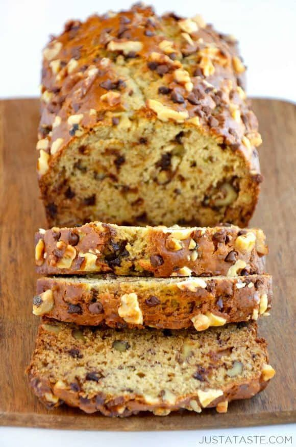 Sour Cream Banana Bread Recipe Recipes Changes - decreased ...