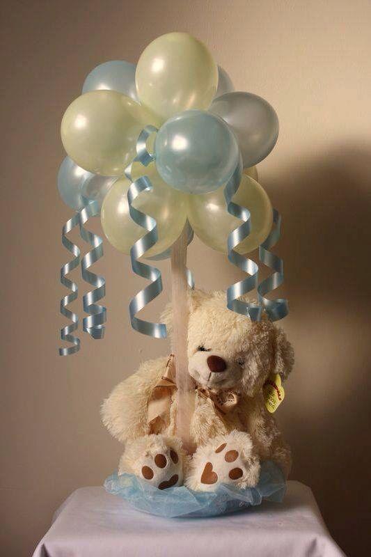 Ideas Baby Shower Nino Ositos.Ideas De Centros De Mesa Con Ositos De Peluche Para Baby