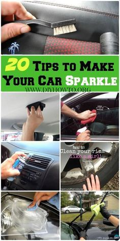 20 Car Deep Cleaning Tips Tricks to Make Your Car Sparkle