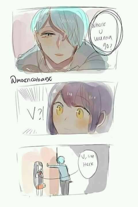 Mystic Messenger- V x Mc #Otome #Game #Anime  Susanghan