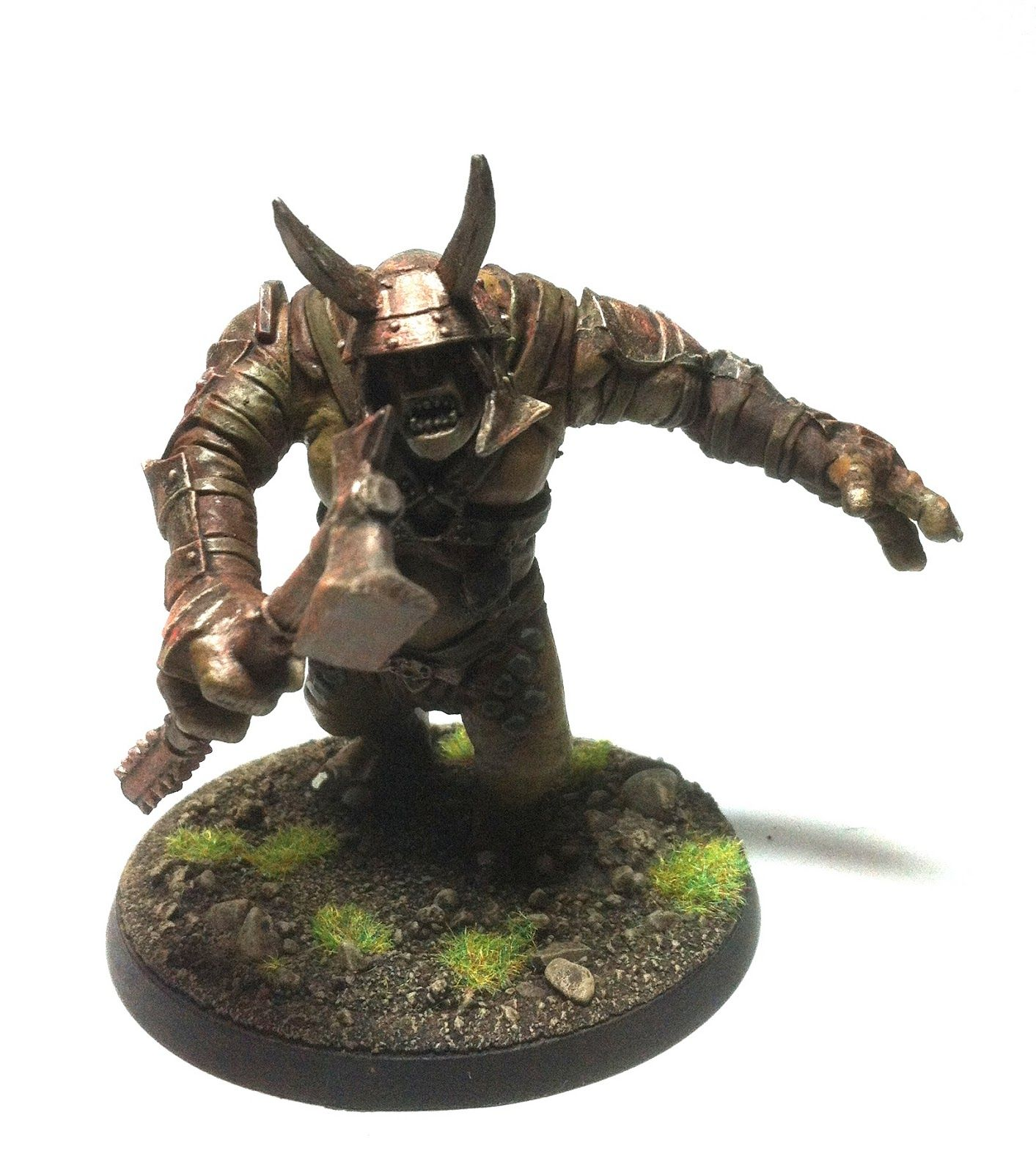 The Dale Wardens 28mm Games Workshop Mordor Troll for Lord of the ...