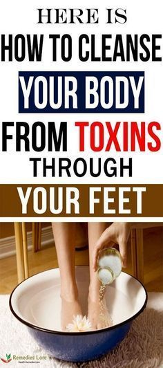 Did You Know That You Can Detox Your Body Through Your Feet?#body #detox #feet #fitness transformati...