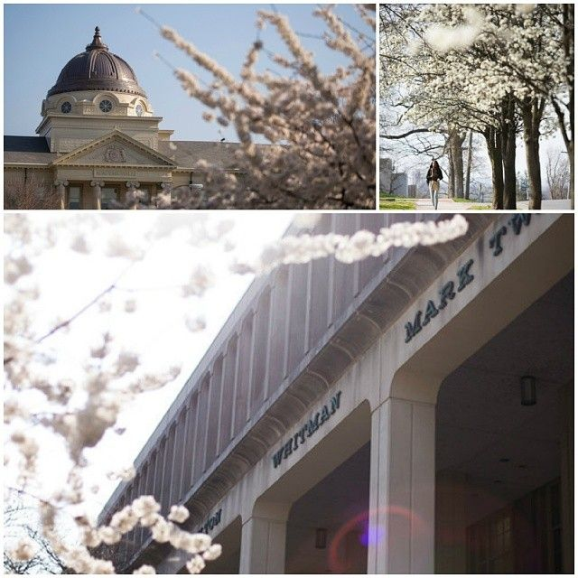 Here's a peek at Southeast in the spring #SEMO #spring