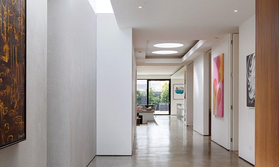 mckimm design, entry, concrete, concrete floor #326 Foote