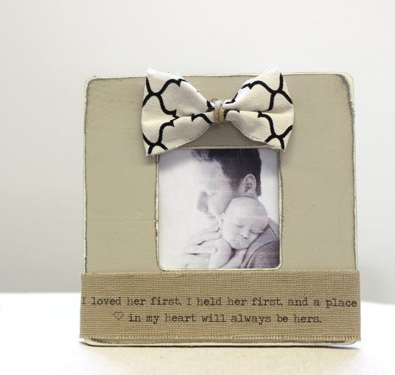 Gift for Fathers Day Dad Daddy from Daughter Picture Frame \'I loved ...