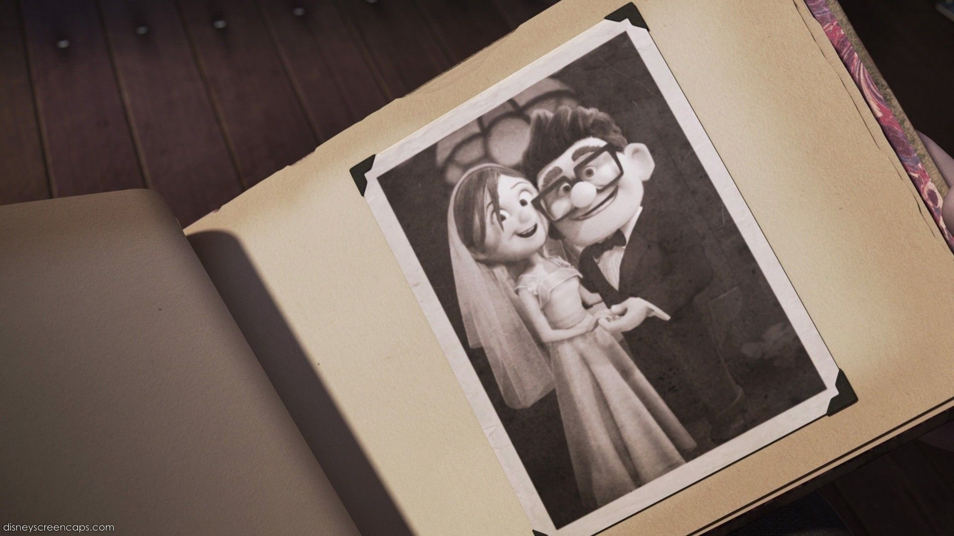 Nice One Now Find A Screencap Of Carl And Ellie S Wedding